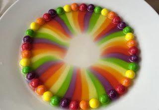 Actividades para Educación Infantil: EXPERIMENTO: el arco iris de caramelo