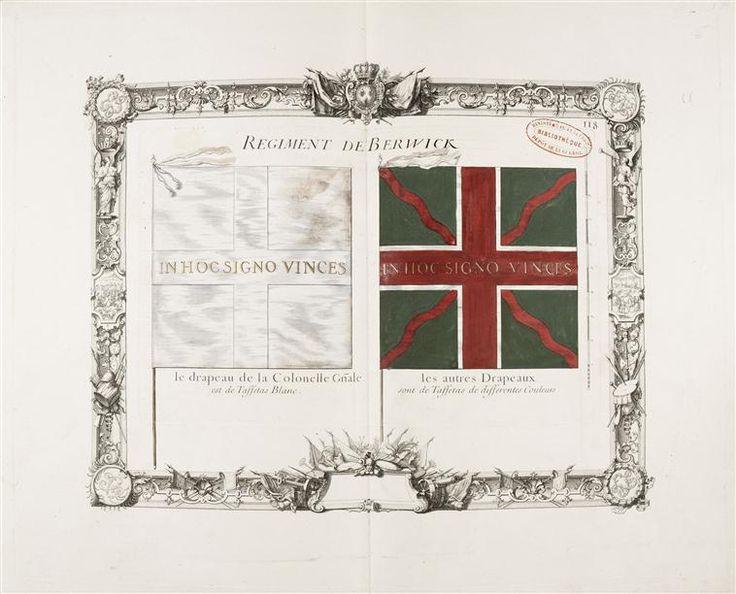 Réunion des Musées Nationaux-Grand Palais - drapeaux colonel et d'ordonnance de Berwick