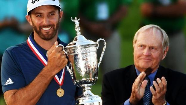 Dustin Johnson wins U.S. Open