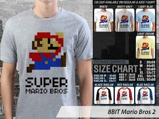 OMAH STORE: 8 BIT Mario Bros 2