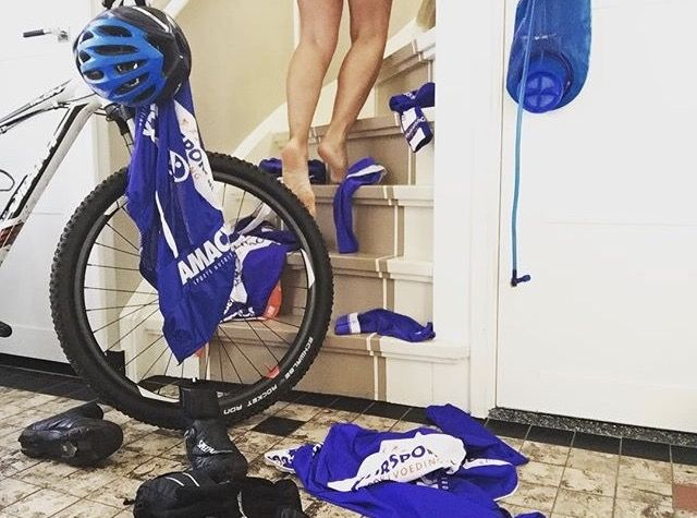 #homeride #blue #sexy #cycling