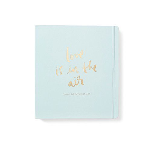 Wedding Bridal Planner Practical & Pretty Love is in the Air Kate Spade New York #weddingplanner