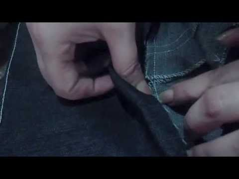 ✂ Como confeccionar el jeans levanta cola, marca cintura y achata panza - YouTube