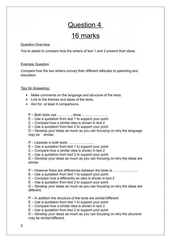 Pin On Language Resources Aqa A Level English Literature Essay Structure