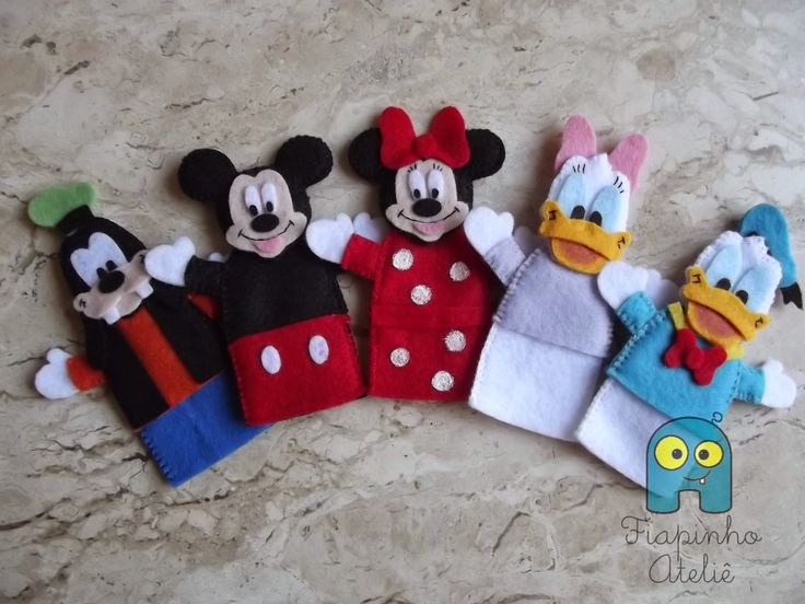 Fiapinho: Dedoches Turma do Mickey                                                                                                                                                                                 Mais