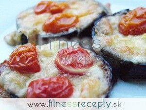 Zapekaný baklažán s mozzarellou