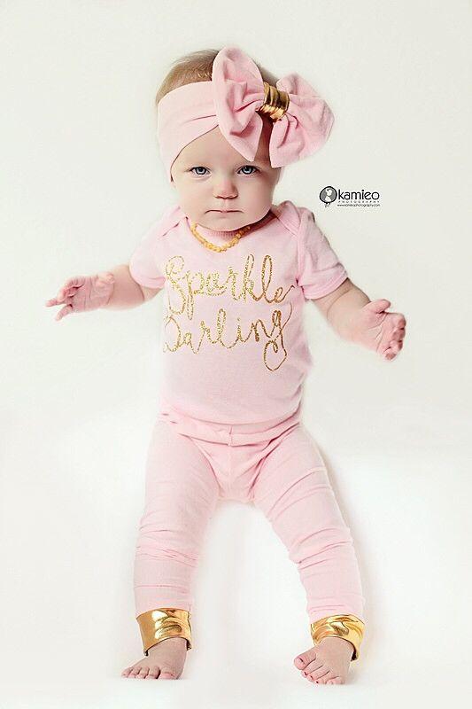 Sparkle Darling Baby Onesie