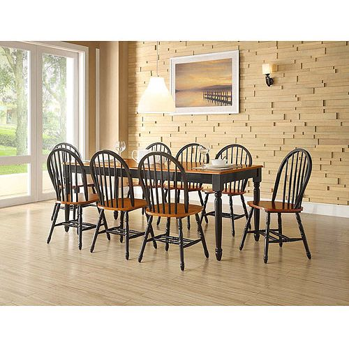 429 better homes and gardens autumn lane 9 piece dining for 9 piece dining room set with leaf
