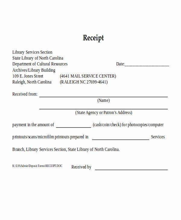 Cash Payment Receipt Template Luxury 24 Receipt Formats In Word Receipt Template Good Essay Free Receipt Template