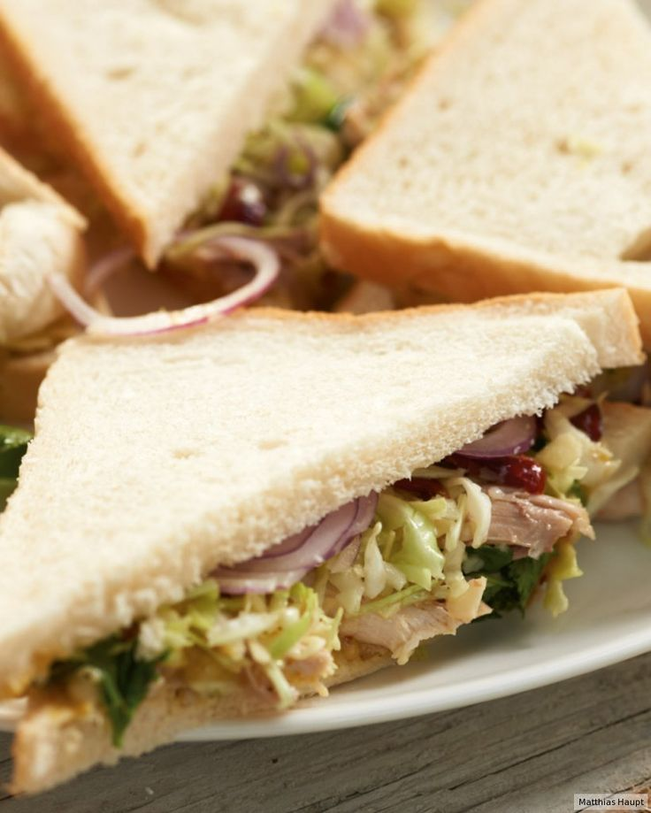 Hähnchen-Sandwich Rezept - ESSEN & TRINKEN
