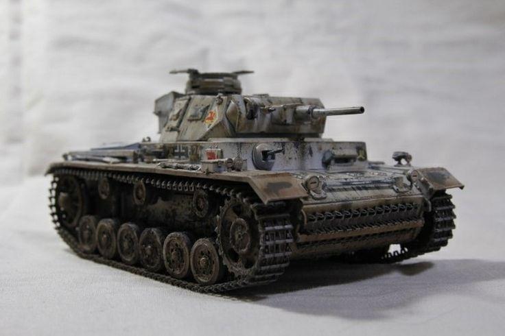 panzerkampfwagen III asdf.J winter camo  made by Lee Juho