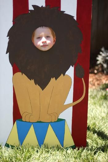 Hostess with the Mostess® - Owen's Vintage Circus 1st Birthday Party                                                                                                                                                     More
