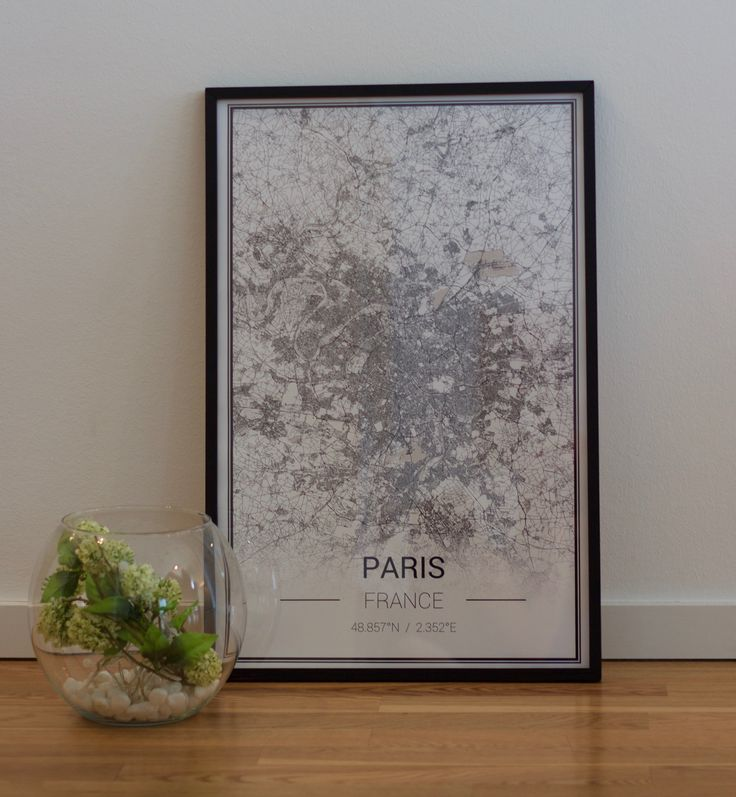 Paris Poster - wallart