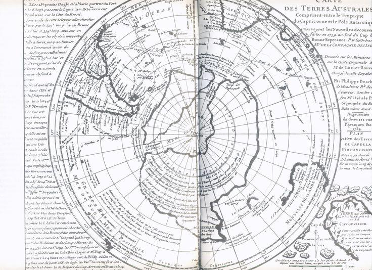 1754 - in Cartes des anciens rois des mers, Hapgood, ed. du Rocher 1981