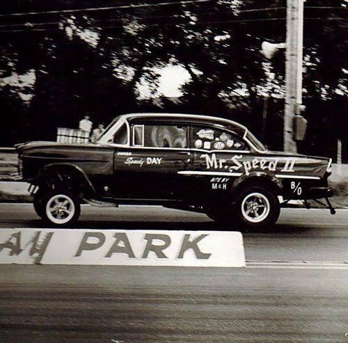 Vintage Drag Racing JLE Wicked Gassers T