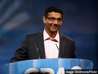 """Conservative author Dinesh D'Souza, the director and co-writer of the highly successful documentary 2016: Obama's America, told the Conservative Political Action Conference on Friday that """"after we did 2016, President Obama was very upset... If he was upset about that film, wait 'til he sees the new one."""""""