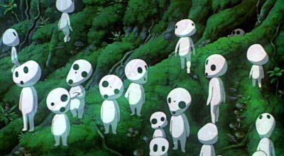 La princesa Mononoke  #Miyazaki http://cuchurutu.blogspot.com/2014/05/felizlunes-las-peliculas-de-hayao.html