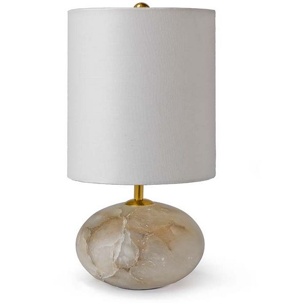 Alabaster orb lamp regina andrewregina andrew design redefines contemporary style with an artists eye