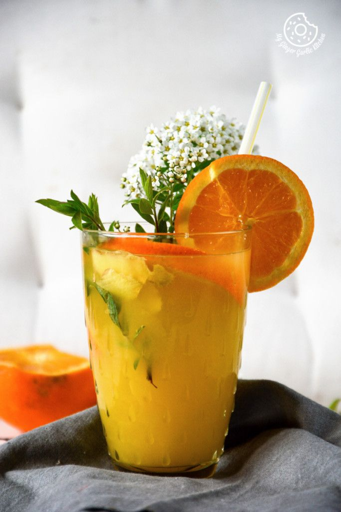 Non-Alcoholic Ginger Mimosa - A Perfect Summer Mocktail