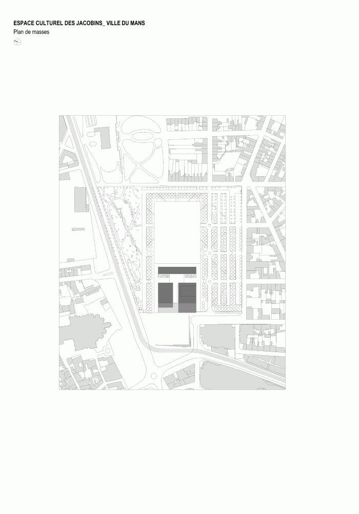 Les Quinconces Cultural Center / Babin+Renaud