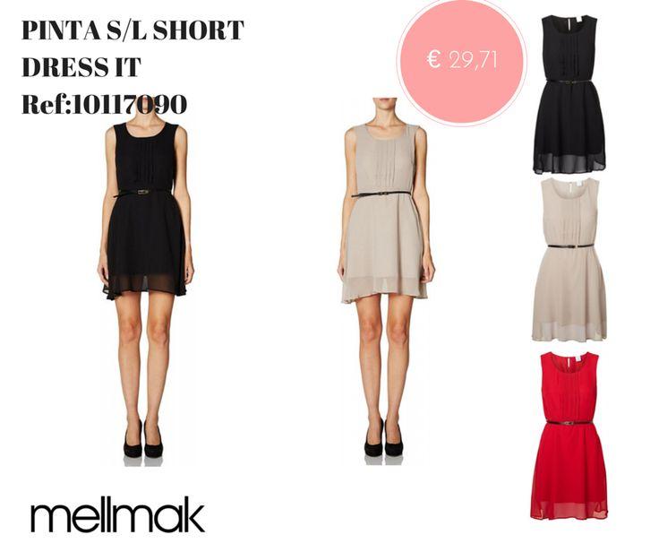 MELLMAK.COM Conheça todas as novidades da estação na Mellmak PINTA S/L SHORT DRESS IT Ref:10117090 Antes€ 34,95 AGORA € 29,71 http://www.mellmak.com/pt/loja/103465-pinta-sl-short-dress-it-detail.html #veroModa #mulher #vestido #moda
