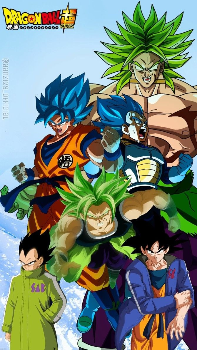 Dbs Movie Broly 2018 Dessin De Dragon Dessin Dragon Ball