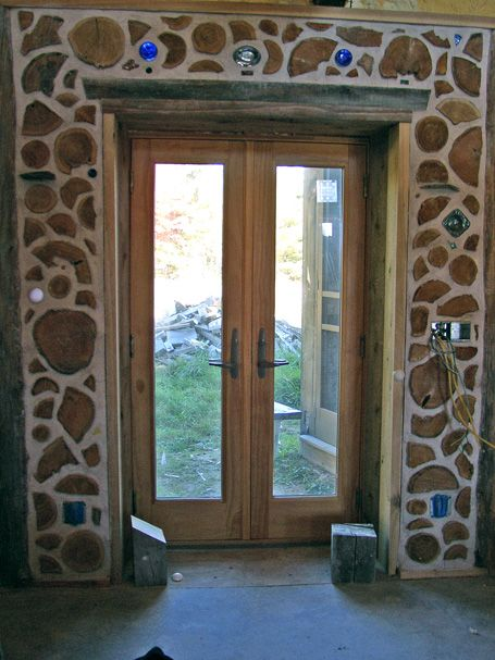 121 Best Images About Cordwood On Pinterest Bottle Wall Cabin And Logs