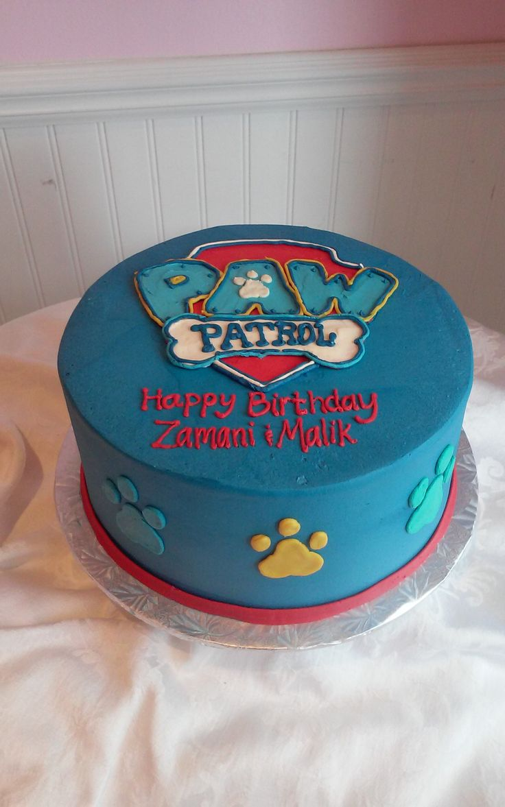 Paw Patrol Birthday Cake Sweetpea Cake Amp Cupcake