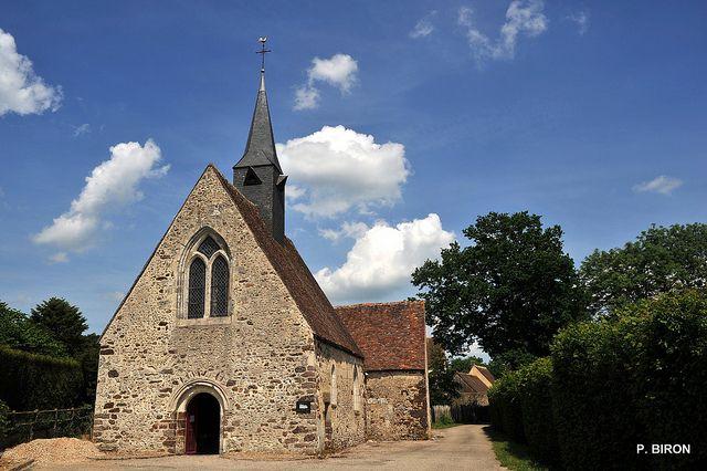 Eglise Ste-Madeleine de la Ventrouze - Orne, Normandy, France.