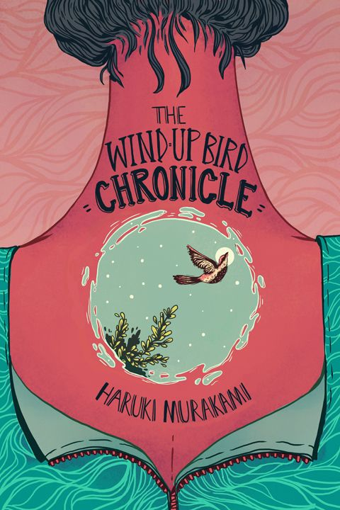 The Wind-Up Bird Chronicle by Hannah Holmes, via Behance