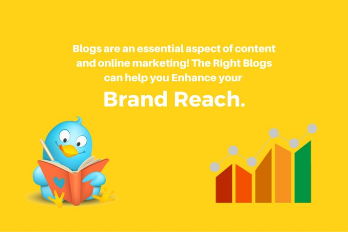 Right Blogs can help you Enhance your Brand Reach