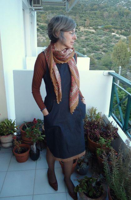 #mmmay14 Day 11 Angela Kane pinafore dress
