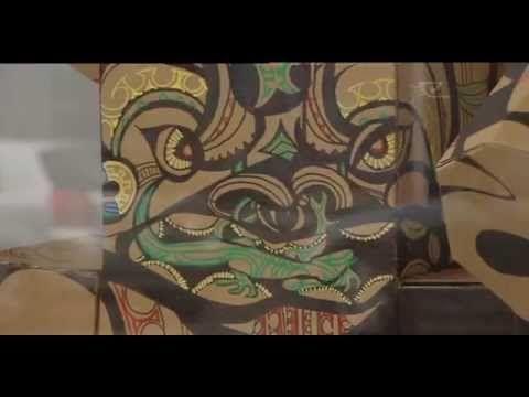 Te Karanga-a-Hape exhibition calls to Auckland locals - YouTube