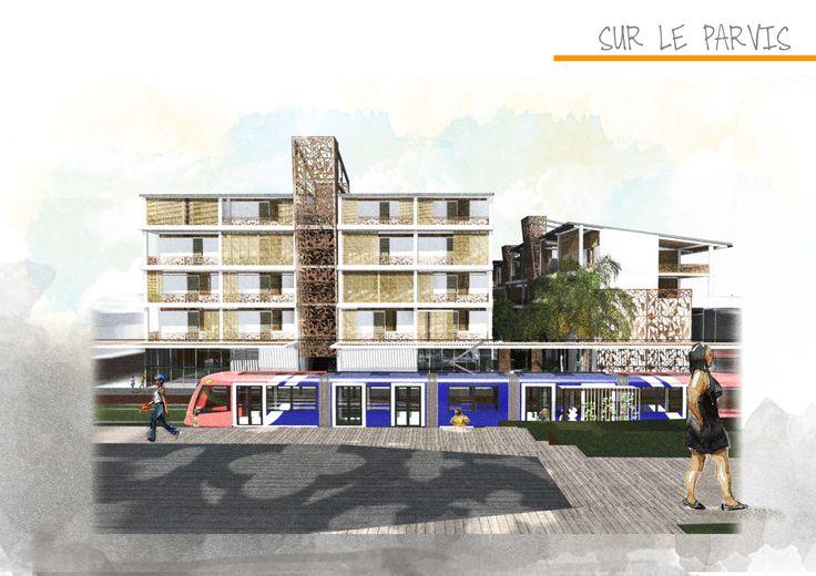 Sarah-Jane Rameau(linkedin) , Projet Final d'Études, Maitrise en Architecture École Nationale Supérieure d'Architecture de Bordeaux (EnsapBx) #haiti #architecture #design