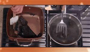 Copper Chef burnt milk