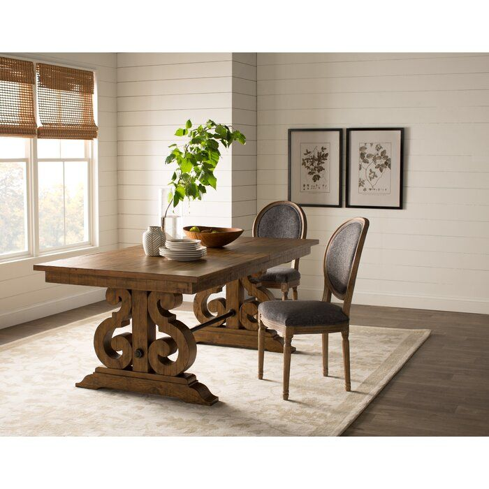 Jeremiah Extendable Dining Table In 2020 Dining Table Solid Wood Dining Table Extendable Dining Table