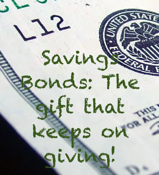 Thanks to hubsfor the idea to post about this! Savings bonds are an awesome gift for the kiddo in your life that may have everything, or for the sullen teenager on your list. Savings Bonds are an ...