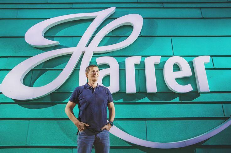 Portrait for Mr. Karl Harrer the brand owner for Harrer Chocolat Ltd. (c)2015 Tibu Csepregi - www.csepregiphotography.hu