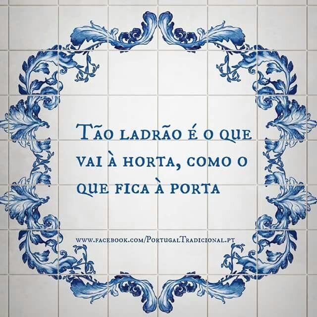 Provérbio popular - Portugal
