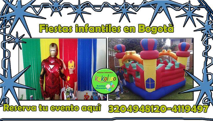 CELEBRAMOS espectaculares #fiestasinfantilesbogota increíbles precios llámanos 3204948120-4119497 y visita nuestro sitio web aquí