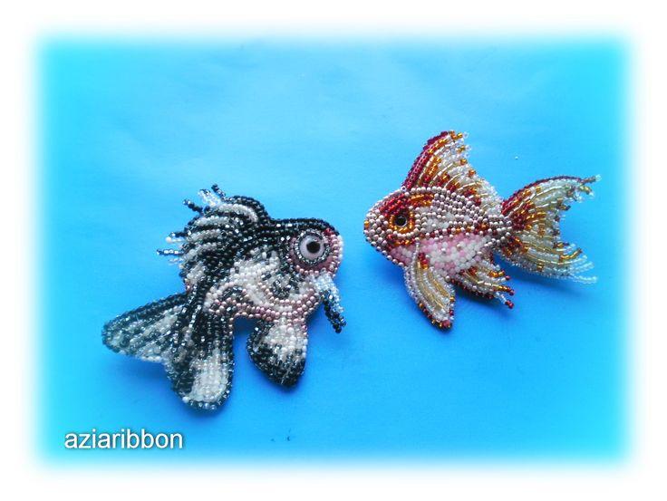 Рыбки   biser.info - всё о бисере и бисерном творчестве