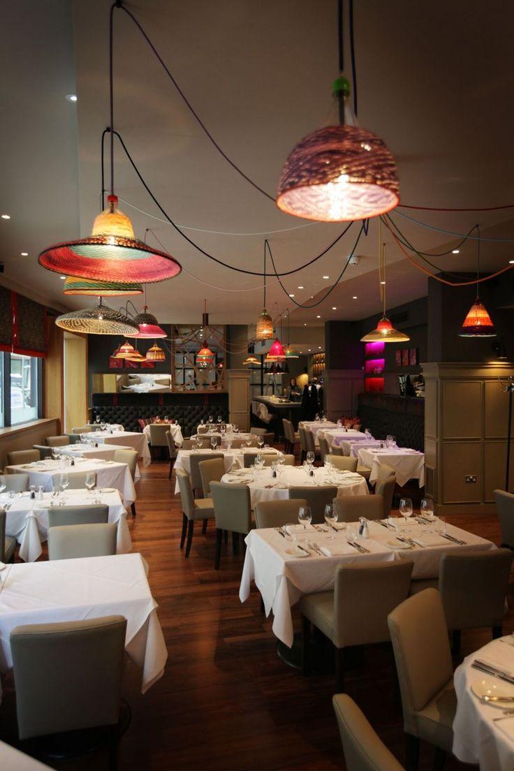 Classic Modern Bistro | 21 interior design by Ward Robinson | Newcastle upon Tyne | Restaurant Design | Pet Lamp lighting