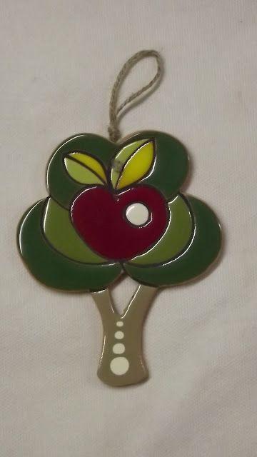 ceramica come mestiere: Albero decorativo da parete.
