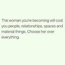 Choose yourself..