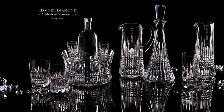 Waterford: Luxury crystal drinkware, home interiors and giftware