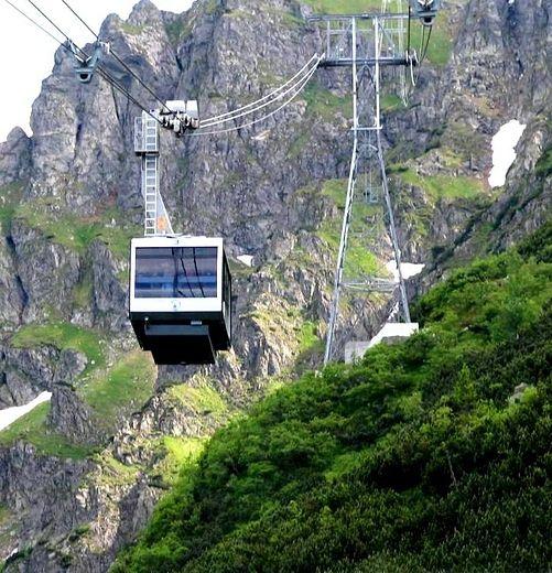 Kasprowy Wierch Peak Lift, Tatra Mountains