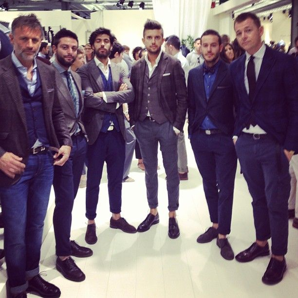 The handsomest booth at Pitti inevitably belongs to Brunello Cucinelli. MS (at Pitti Immagine Uomo 84)