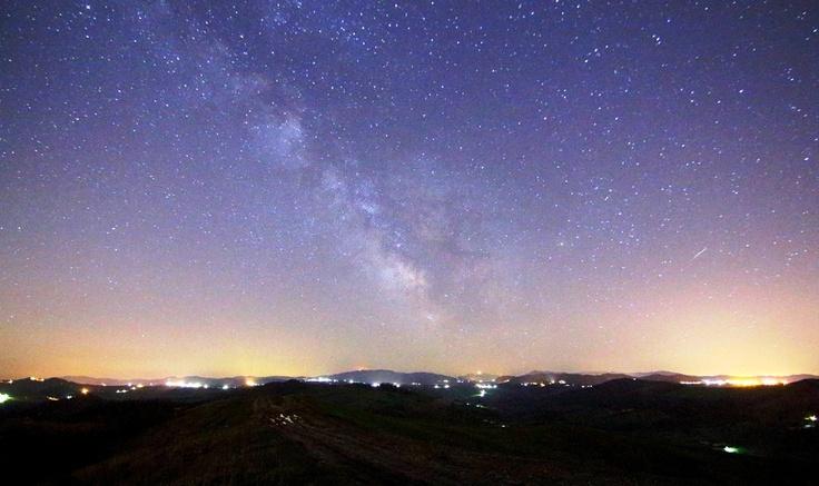 La Via Lattea sopra Montalto Pavese