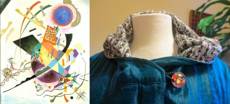 Kandinsky inspiration in our accessories. Anna Povo A/W 14