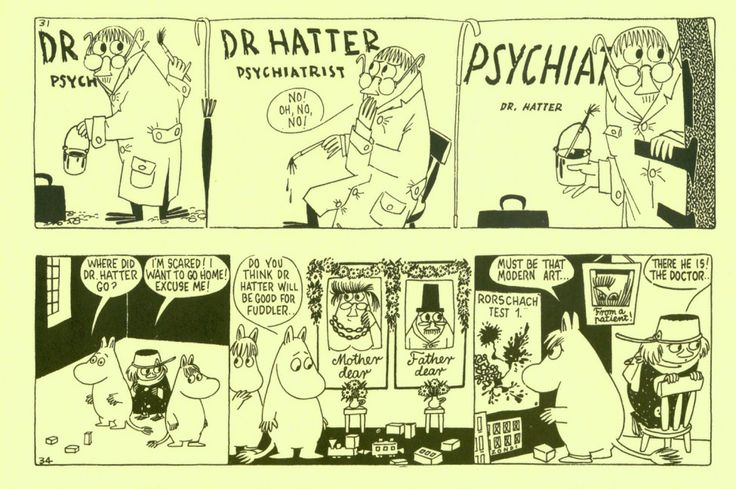 The Moomin Cartoonist | tygertale